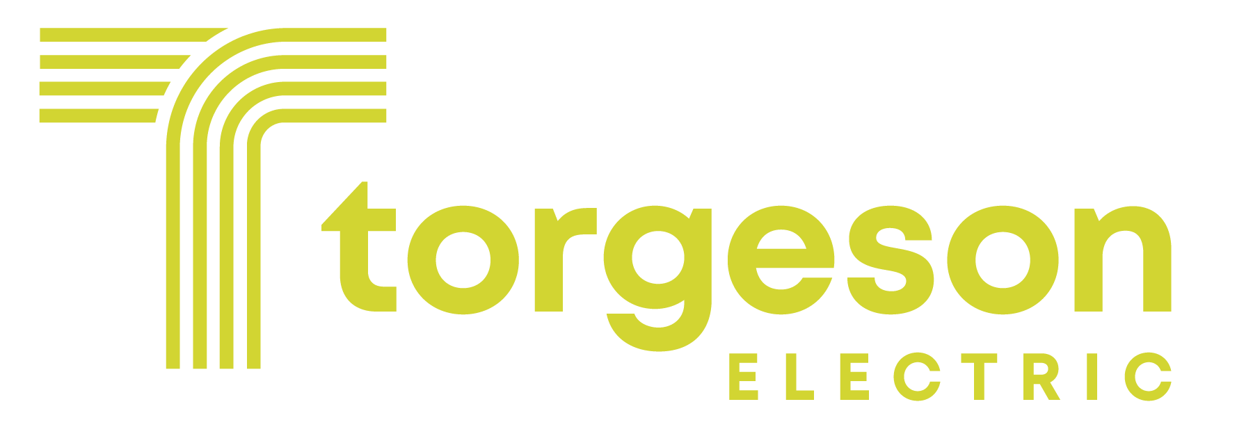A photo of Torgeson Electric's horizontal logo